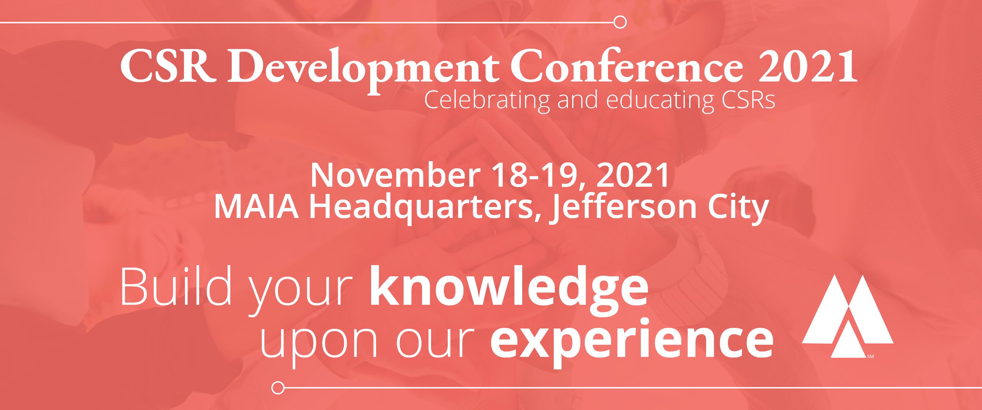CSR Development Conference